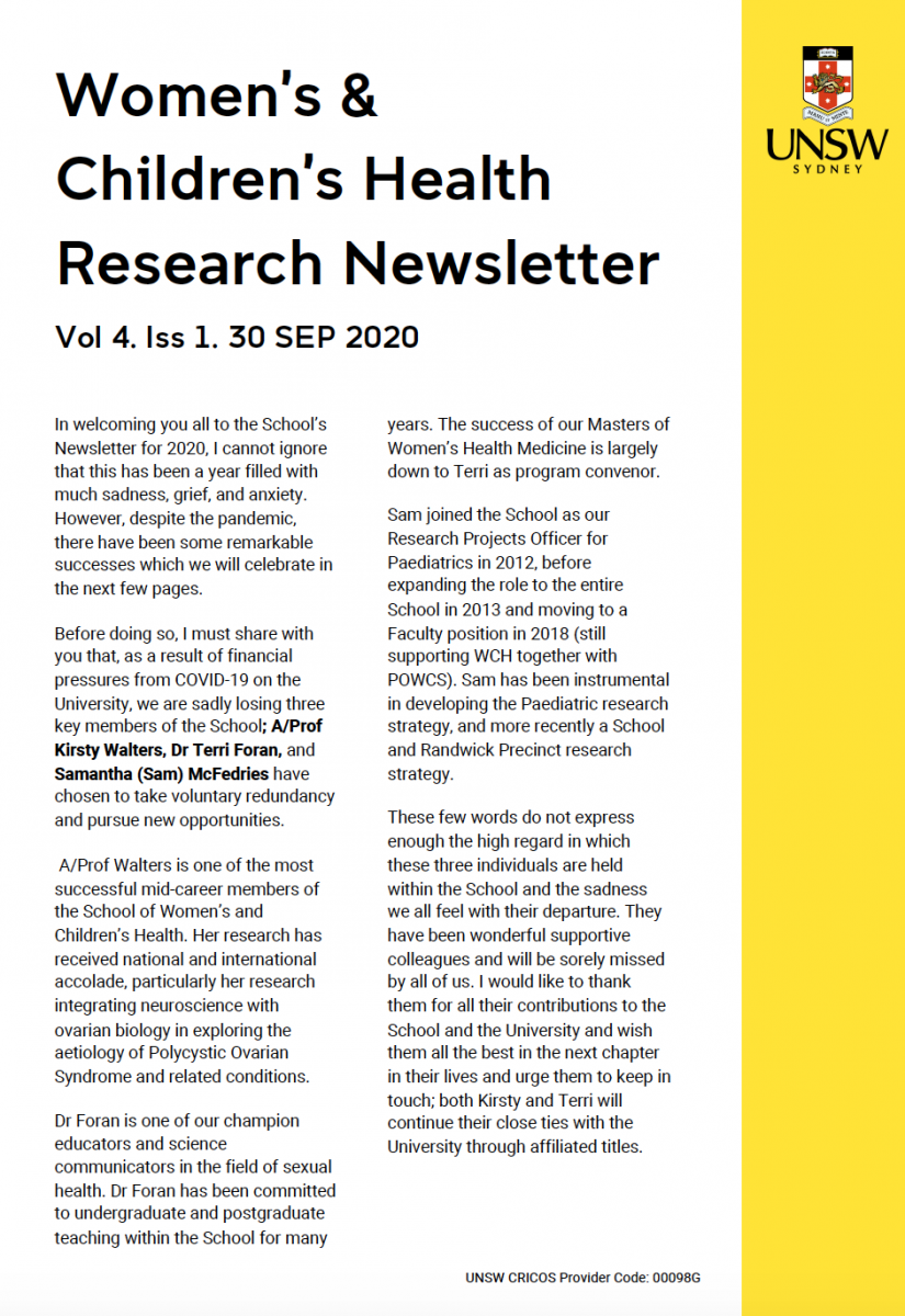 image - SWCH Research Newsletters